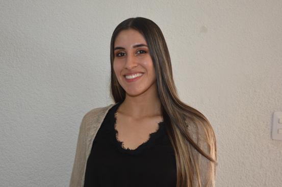 Vanessa Grimaldos Patiño, coordinadora de la Oficina de Internacionalización